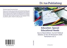 Copertina di Education: Special Educational Needs