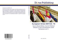 Bookcover of European Union Bill Vol. 10