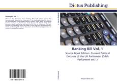 Bookcover of Banking Bill Vol. 1