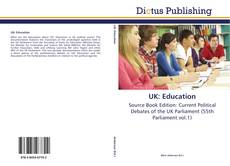 Bookcover of UK: Education