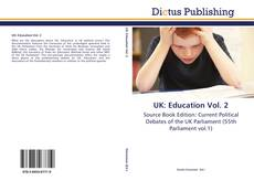 Bookcover of UK: Education Vol. 2