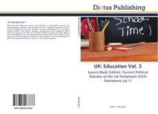 Capa do livro de UK: Education Vol. 3