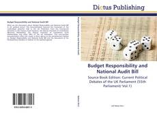 Bookcover of Budget Responsibility and National Audit Bill