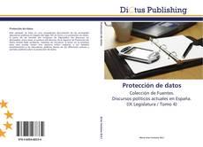 Bookcover of Protección de datos