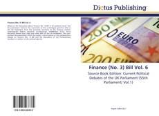 Finance (No. 3) Bill Vol. 6 kitap kapağı
