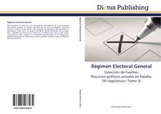 Portada del libro de Régimen Electoral General