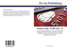 Bookcover of Finance (No. 3) Bill Vol. 12