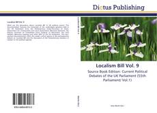 Bookcover of Localism Bill Vol. 9