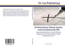 Parliamentary Voting System and Constituencies Bill的封面