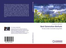 Bookcover of Next Generation Biofuels