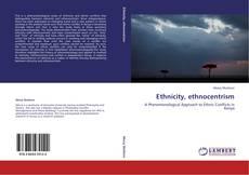 Capa do livro de Ethnicity, ethnocentrism