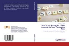 Обложка Test-Taking Strategies of EFL Learners on Two Vocabulary Tests
