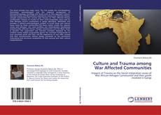 Capa do livro de Culture and Trauma among War Affected Communities