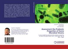 Обложка Assessment the Probiotic Properties of Some Microbial Strains