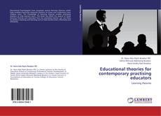 Capa do livro de Educational theories for contemporary practising educators