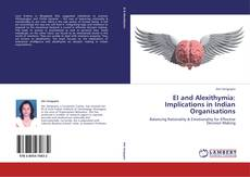 Buchcover von EI and Alexithymia: Implications in Indian Organisations