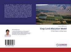 Buchcover von Crop Land Allocation Model