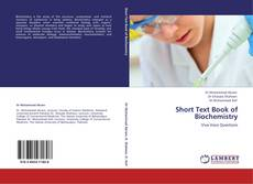 Bookcover of Short Text Book of Biochemistry