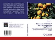 Bookcover of Response of 'Kinnow' Mandarin to Boron Application