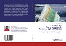 Buchcover von Growth  And  Characterization Of Nonlinear  Optical Materials