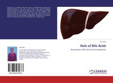 Bookcover of Role of Bile Acids