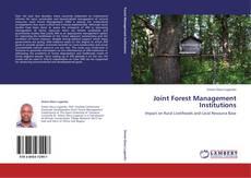 Portada del libro de Joint Forest Management Institutions