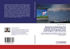 Bookcover of Optimal scheduling for biocide dosing and heat exchangers maintenance