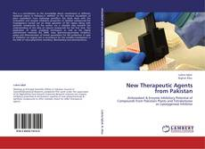 Portada del libro de New Therapeutic Agents from Pakistan
