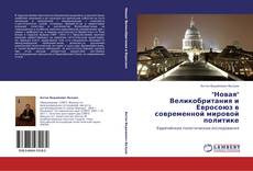 """""""Новая"""" Великобритания и Евросоюз в современной мировой политике的封面"""
