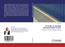 Bookcover of A study on gender representation in EFL