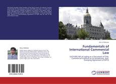 Bookcover of Fundamentals of International Commercial Law