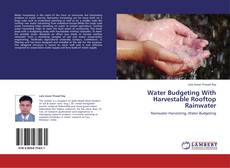 Bookcover of Water Budgeting With Harvestable Rooftop Rainwater
