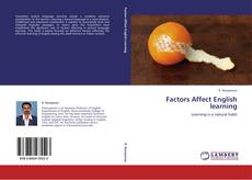 Bookcover of Factors Affect English learning