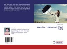 Abrasion resistance of Khadi fabric kitap kapağı
