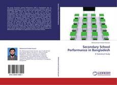 Portada del libro de Secondary School Performance in Bangladesh