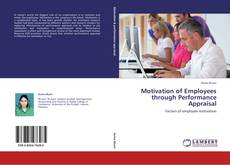 Обложка Motivation of Employees through Performance Appraisal