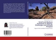 Bookcover of Small and Medium Enterprise in Nigeria: Challenges and Growth Prospect