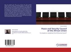 Bookcover of Peace and Security Council of the African Union