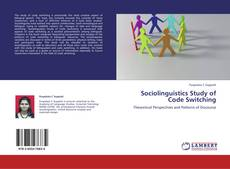 Bookcover of Sociolinguistics Study of Code Switching