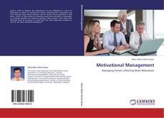Обложка Motivational Management