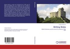 Bookcover of Writing Wales