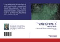 Copertina di Vegetational Inventory of Cold Desert Habitat of Nilang Area
