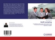 Capa do livro de Audit sampling