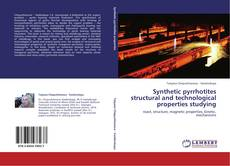 Couverture de Synthetic pyrrhotites structural and technological properties studying