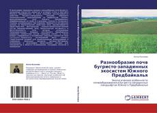 Bookcover of Разнообразие почв бугристо-западинных экосистем Южного Предбайкалья
