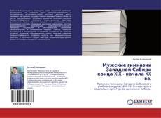 Bookcover of Мужские гимназии Западной Сибири конца XIX - начала XX вв.