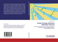 Bookcover of Green Energy Solution Selection Process