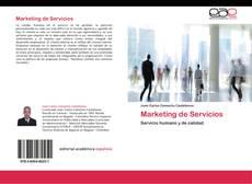 Portada del libro de Marketing de Servicios