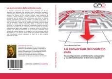 Обложка La conversión del contrato nulo