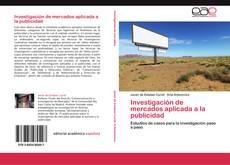Copertina di Investigación de mercados aplicada a la publicidad